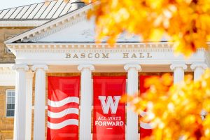 photo of Bascom Hall in fall