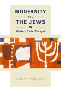 A picture of the cover of the book titled Modernity and the Jews
