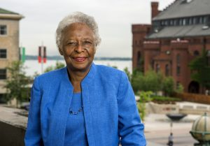 Photo of Cora Marrett, alumna and former Sociology faculty member