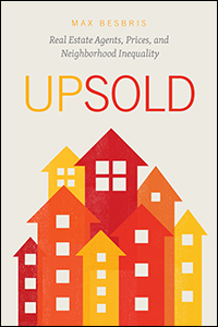 "Cover for the Book ""Upsold"""