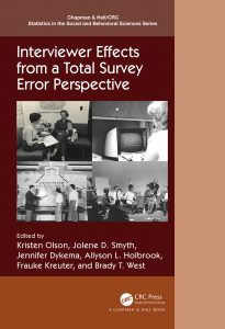 "Cover page of book ""Interviewer Effects from a Total Survey Error Perspective"""