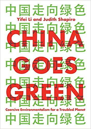 "Book cover for ""China Goes Green"""